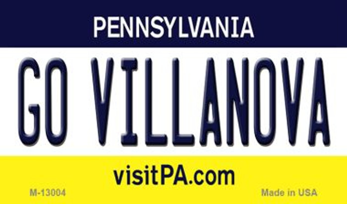 Go Villanova Novelty Metal Magnet M-13004