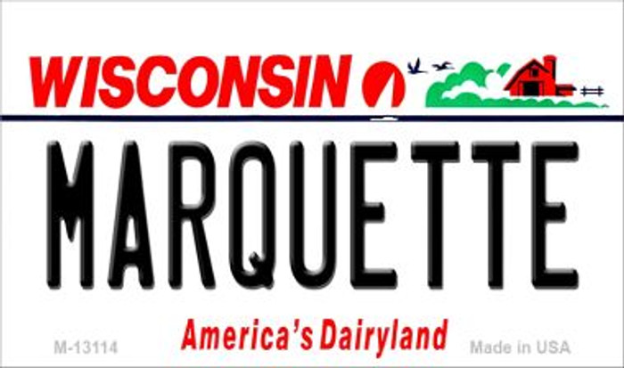 Marquette Novelty Metal Magnet M-13114