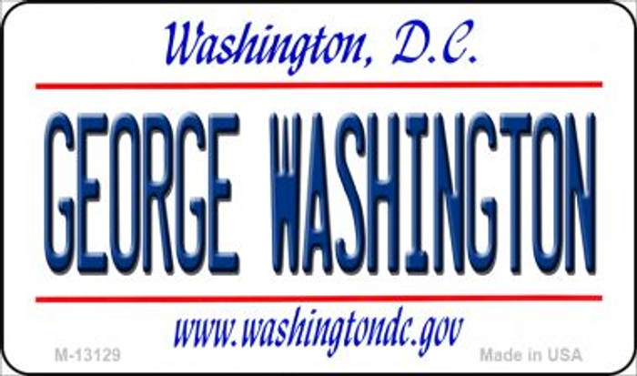 George Washington Novelty Metal Magnet M-13129