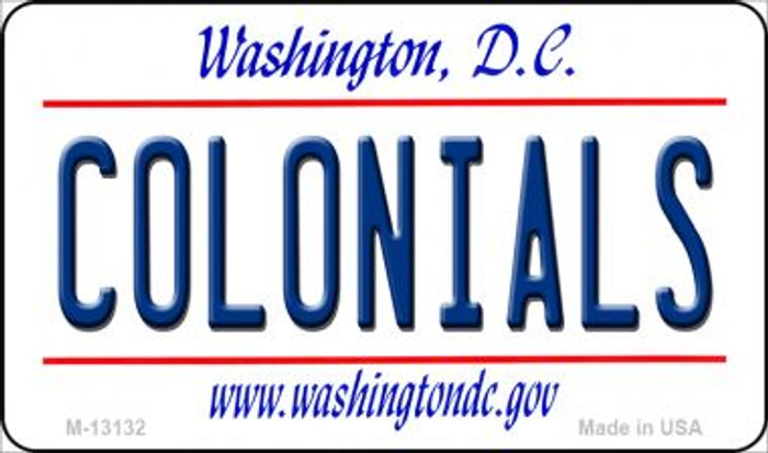 Colonials Novelty Metal Magnet M-13132