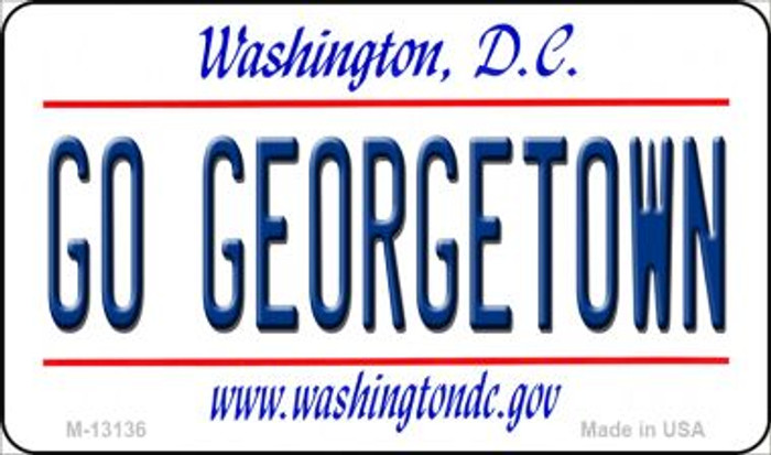 Go Georgetown Novelty Metal Magnet M-13136