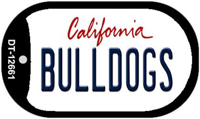 Bulldogs Novelty Metal Dog Tag Necklace DT-12661