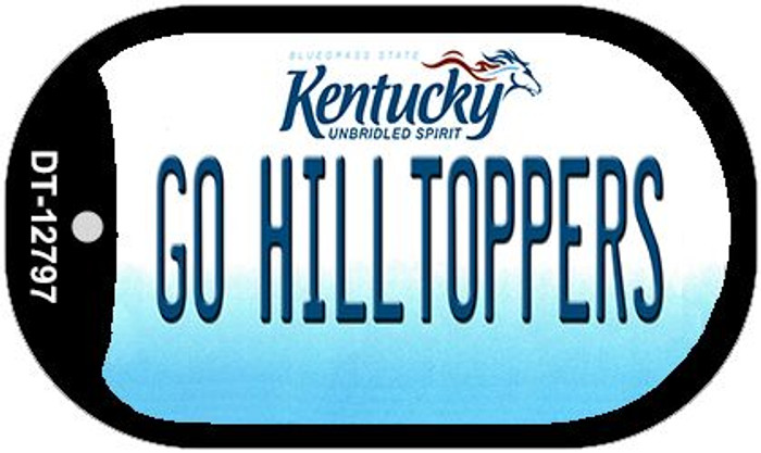 Go Hilltoppers Novelty Metal Dog Tag Necklace DT-12797