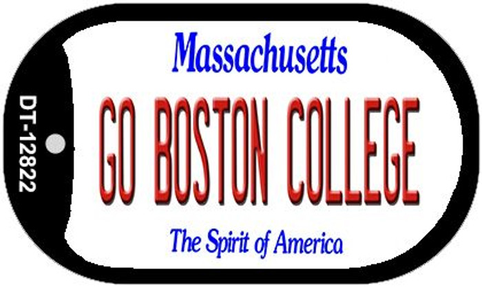Go Boston College Novelty Metal Dog Tag Necklace DT-12822