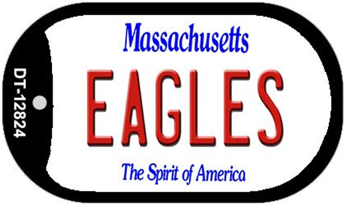 Eagles Novelty Metal Dog Tag Necklace DT-12824