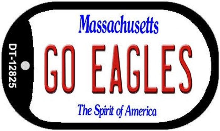 Go Eagles Novelty Metal Dog Tag Necklace DT-12825