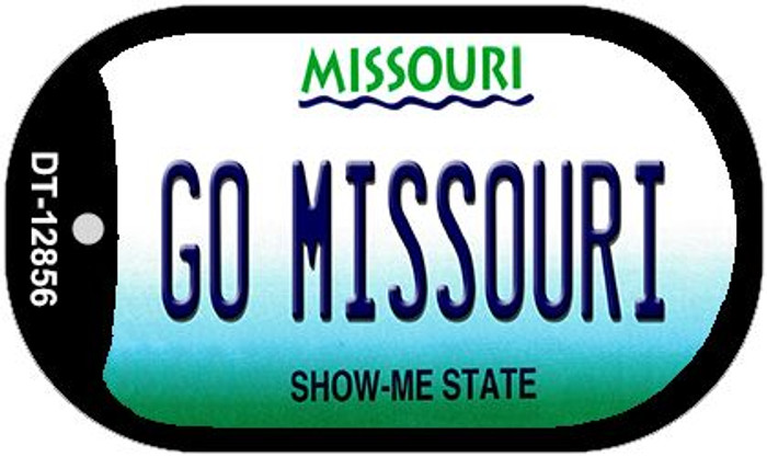 Go Missouri Novelty Metal Dog Tag Necklace DT-12856