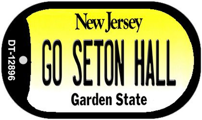 Go Seton Hall Novelty Metal Dog Tag Necklace DT-12896
