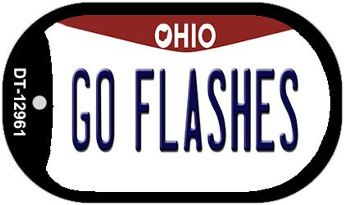 Go Flashes Novelty Metal Dog Tag Necklace DT-12961