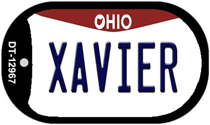 Xavier Novelty Metal Dog Tag Necklace DT-12967