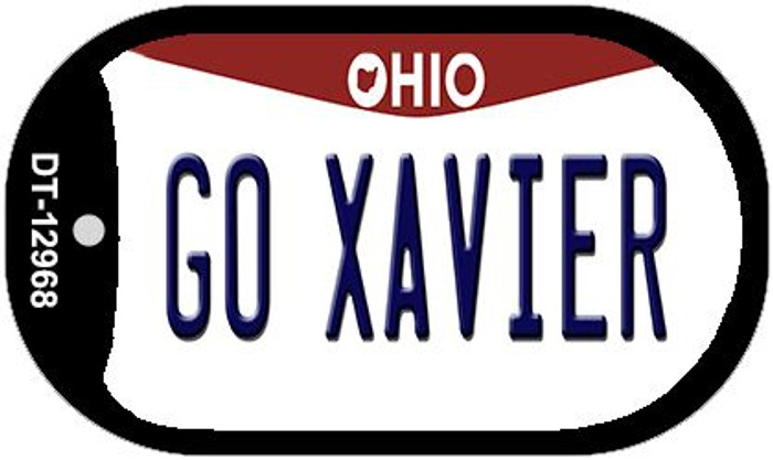 Go Xavier Novelty Metal Dog Tag Necklace DT-12968