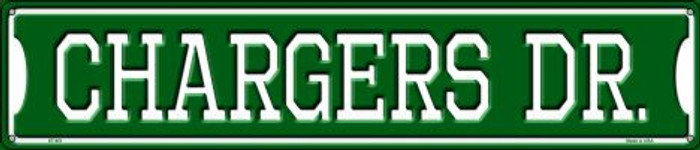 Chargers Dr Metal Novelty Street Sign ST-951