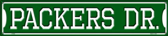Packers Dr Metal Novelty Street Sign ST-962
