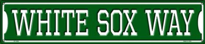 White Sox Way Metal Novelty Street Sign ST-