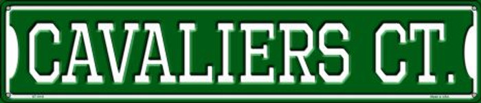 Cavaliers Ct Metal Novelty Street Sign ST-1010