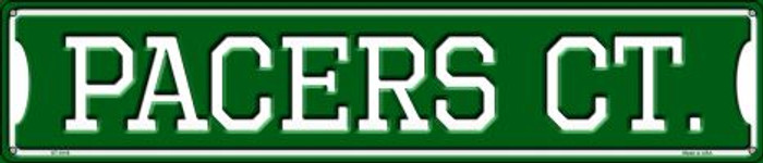 Pacers Ct Metal Novelty Street Sign ST-1016