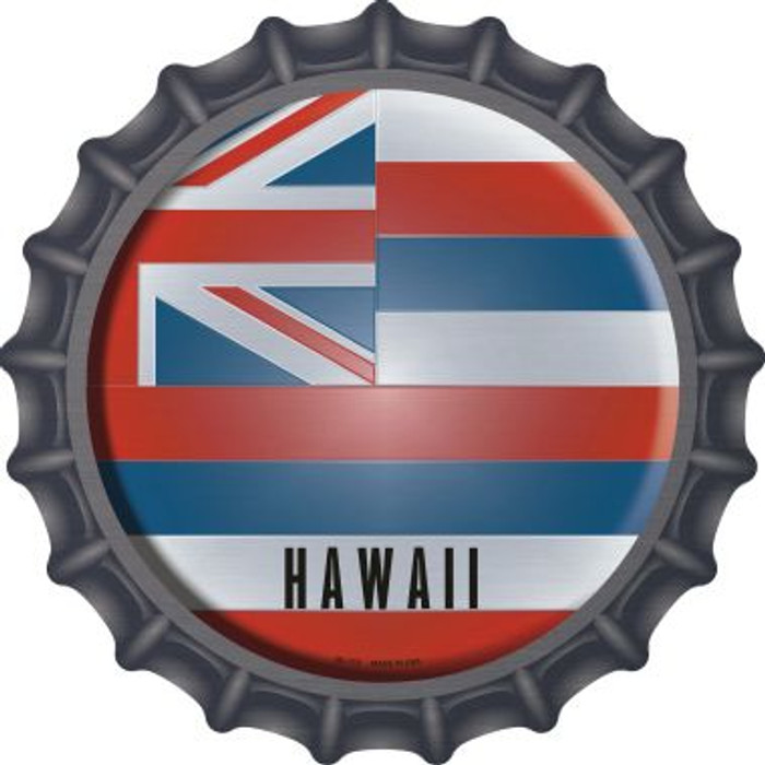 Hawaii State Flag Novelty Metal Bottle Cap BC-110
