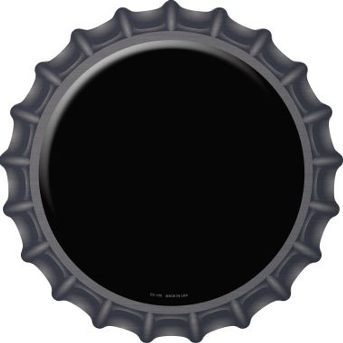 Black Novelty Metal Bottle Cap BC-150