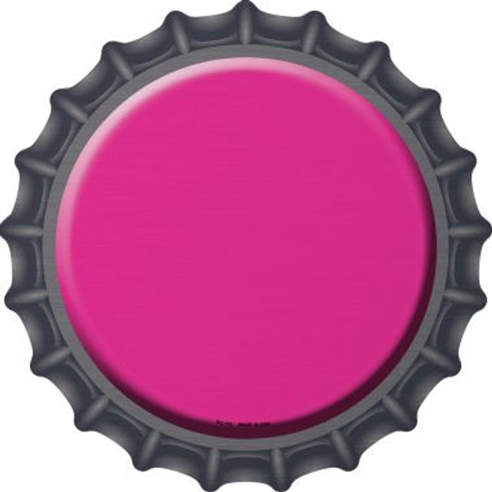 Pink Novelty Metal Bottle Cap BC-152
