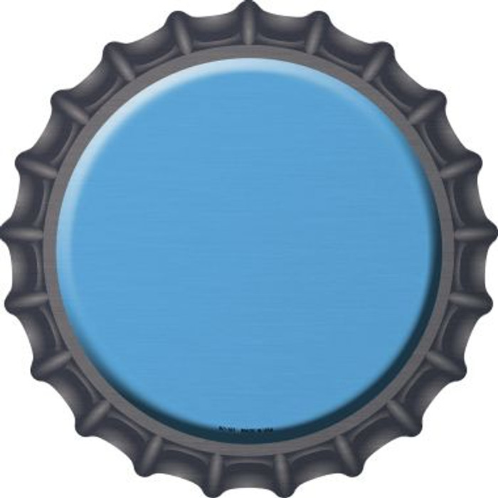Light Blue Novelty Metal Bottle Cap BC-161