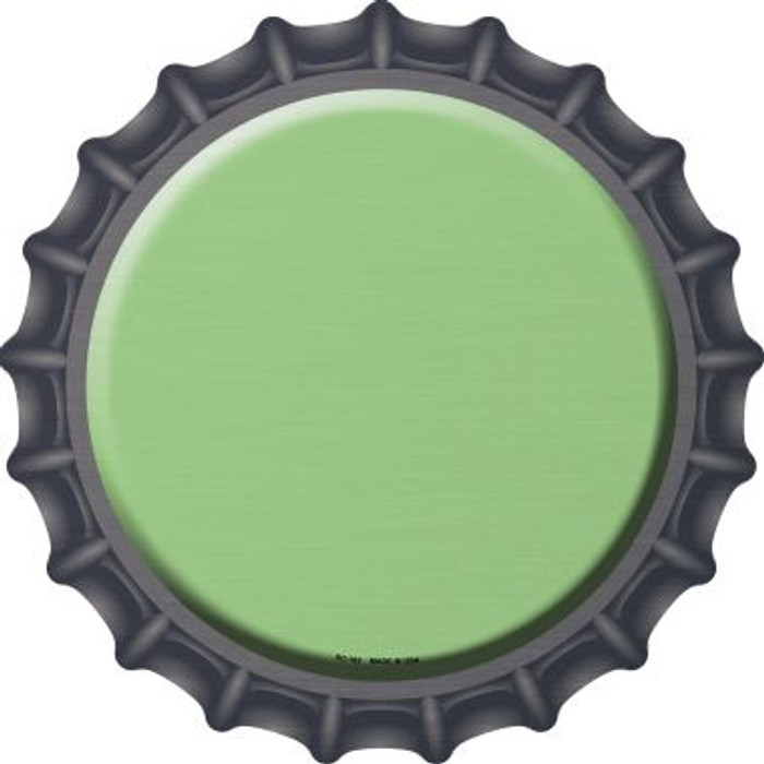 Lime Green Novelty Metal Bottle Cap BC-162