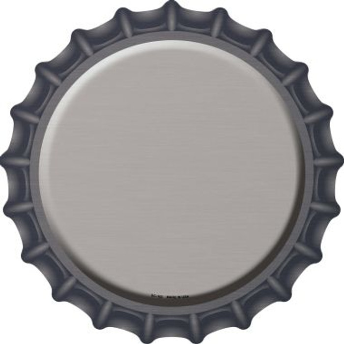 Tan Novelty Metal Bottle Cap BC-163
