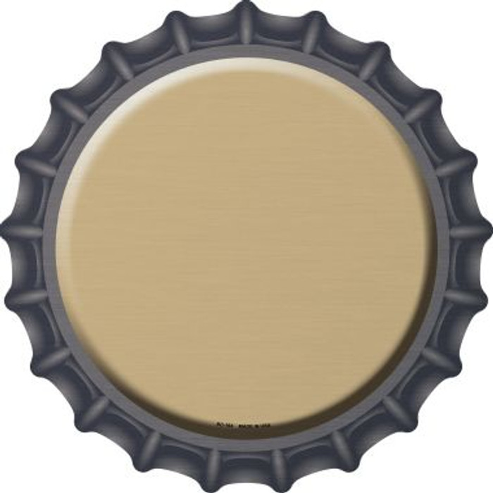 Gold Novelty Metal Bottle Cap BC-164