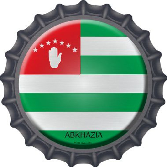 Abkhazia Country Novelty Metal Bottle Cap BC-178