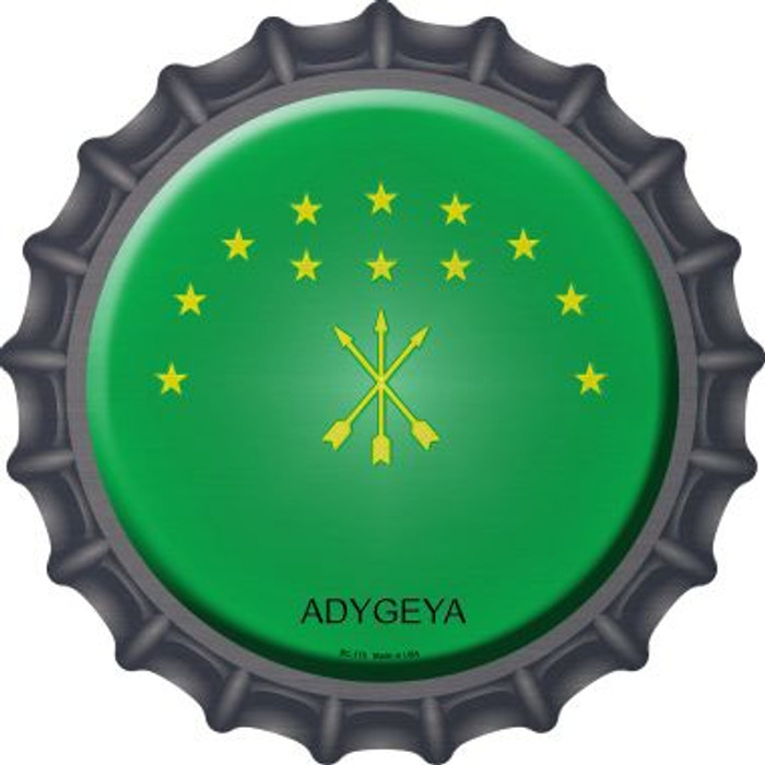 Adygeya Country Novelty Metal Bottle Cap BC-179