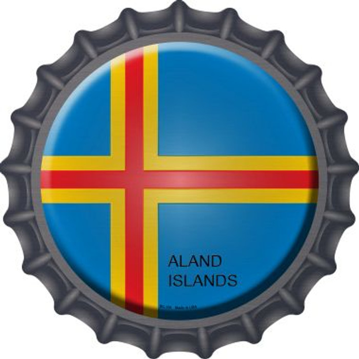 Aland Islands Country Novelty Metal Bottle Cap BC-181