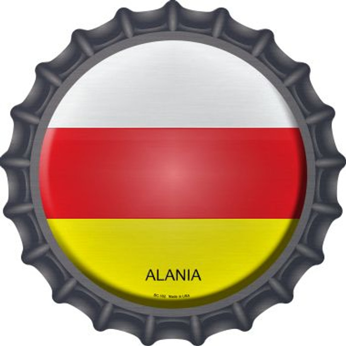 Alania Country Novelty Metal Bottle Cap BC-182