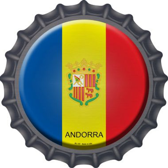Andorra Country Novelty Metal Bottle Cap BC-187
