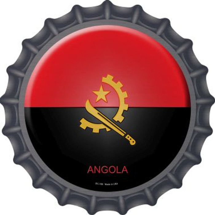 Angola Country Novelty Metal Bottle Cap BC-188