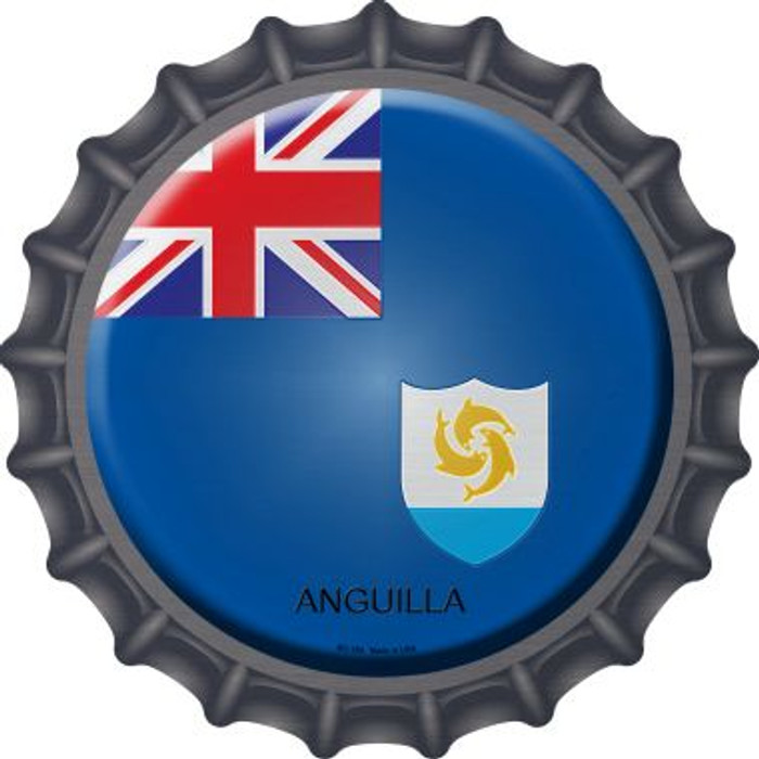 Anguilla Country Novelty Metal Bottle Cap BC-189