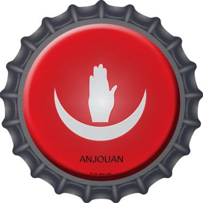 Anjouan Country Novelty Metal Bottle Cap BC-190