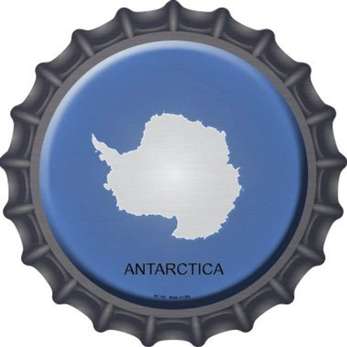 Antarctica Country Novelty Metal Bottle Cap BC-191