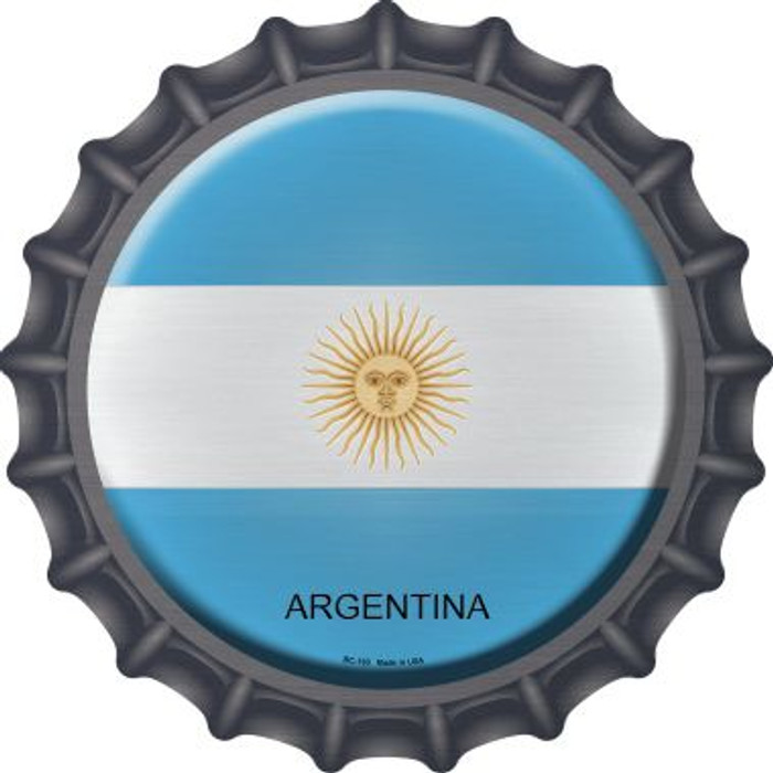 Argentina Novelty Metal Bottle Cap BC-193