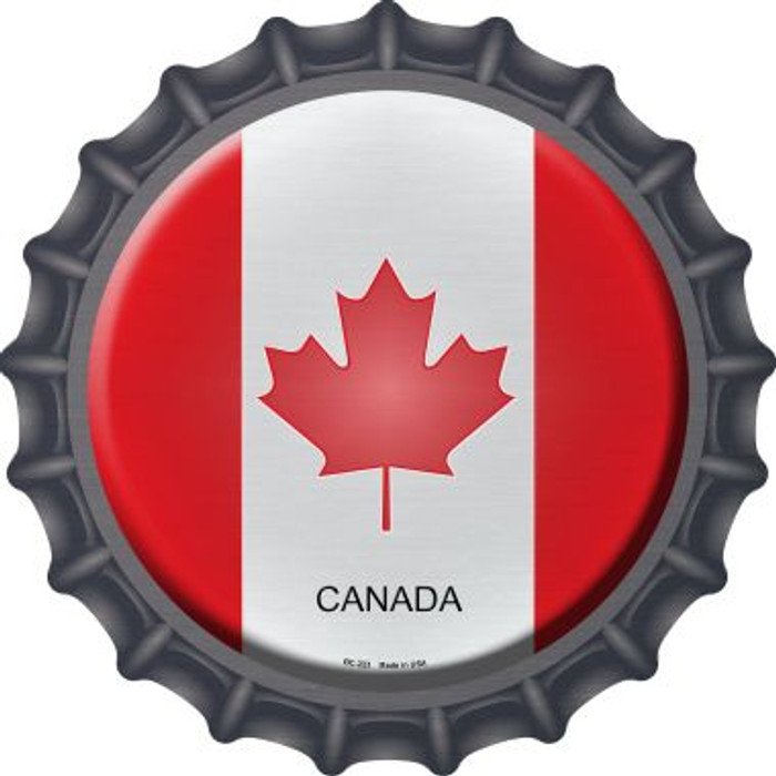 Canada Country Novelty Metal Bottle Cap BC-223