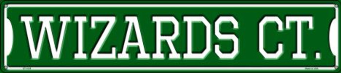 Wizards Ct Metal Novelty Street Sign ST-1035