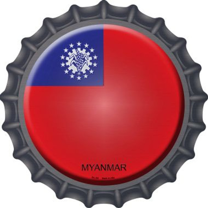 Myanmar Country Novelty Metal Bottle Cap BC-361