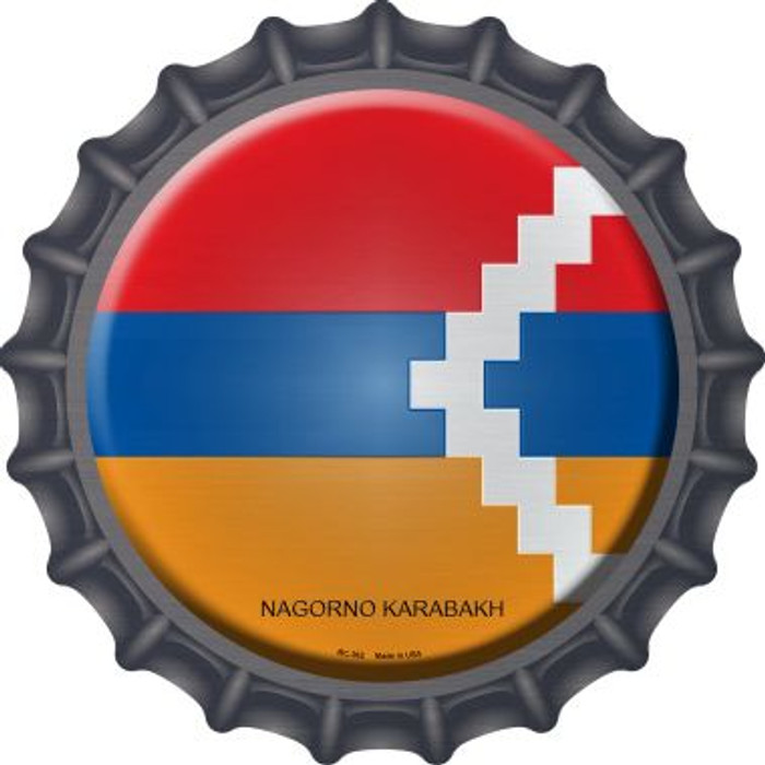 Nagorno Karabakh Country Novelty Metal Bottle Cap BC-362