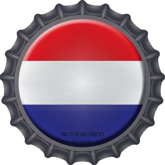 Netherlands Country Novelty Metal Bottle Cap BC-366