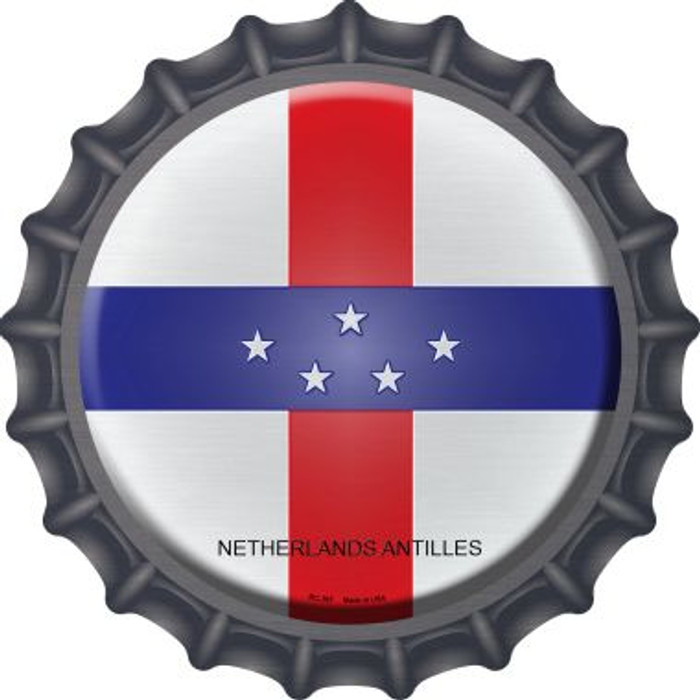 Netherlands Artilles Country Novelty Metal Bottle Cap BC-367