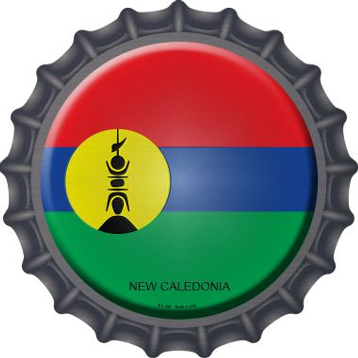 New Caledonia Country Novelty Metal Bottle Cap BC-368