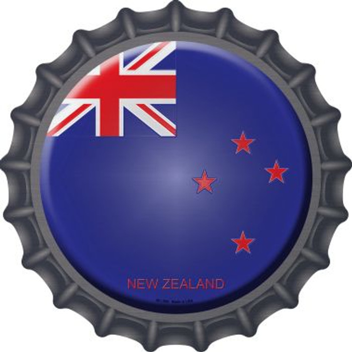 New Zealand Country Novelty Metal Bottle Cap BC-369