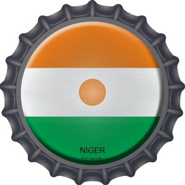Niger Country Novelty Metal Bottle Cap BC-371