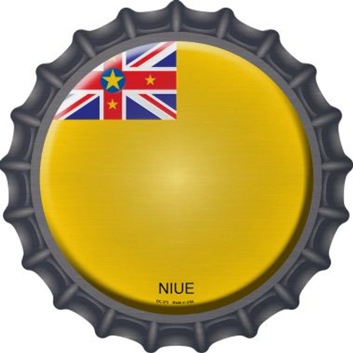 Niue Country Novelty Metal Bottle Cap BC-373