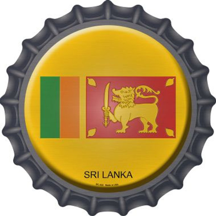 Sri Lanka Novelty Metal Bottle Cap BC-422
