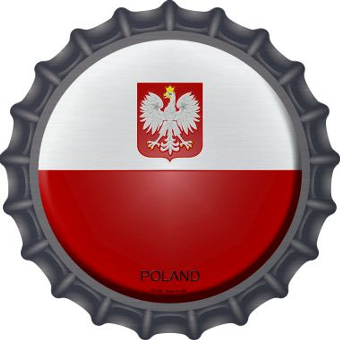 Poland Country Novelty Metal Bottle Cap BC-390
