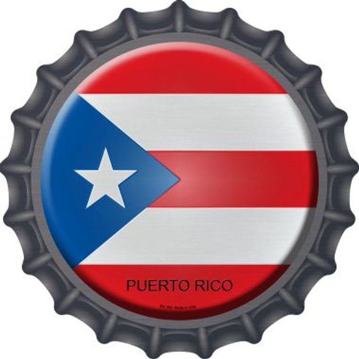 Puerto Rico Country Novelty Metal Bottle Cap BC-392